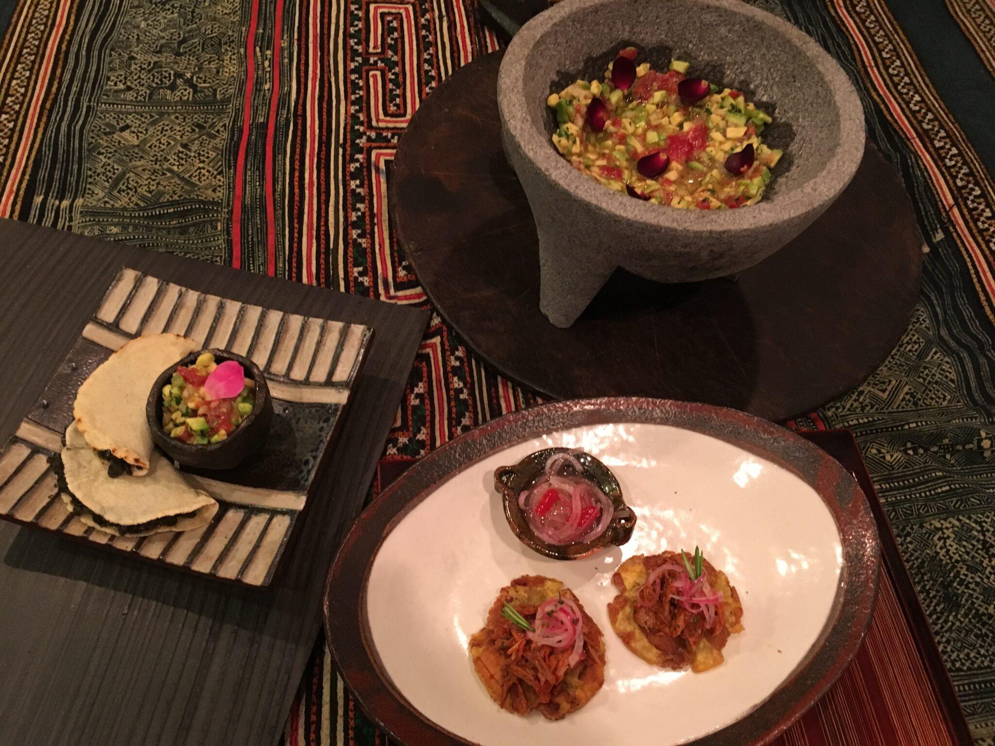 Cocinando recetas mejicanas con la chef Lorena