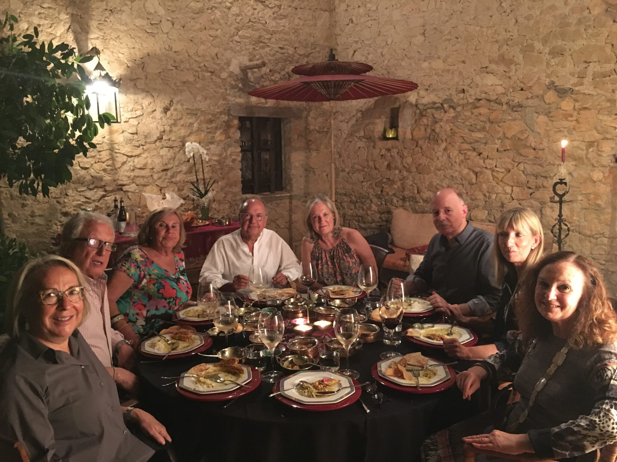 Pilar Latorre World Cuisine: cena encuentro asistentes a viaje a la India