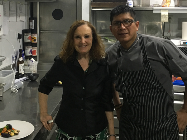 Restaurante Astrid&Gaston de Madrid