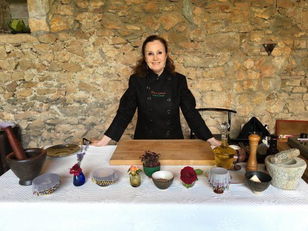 Pilar Latorre. Curso de cocina en La Masia