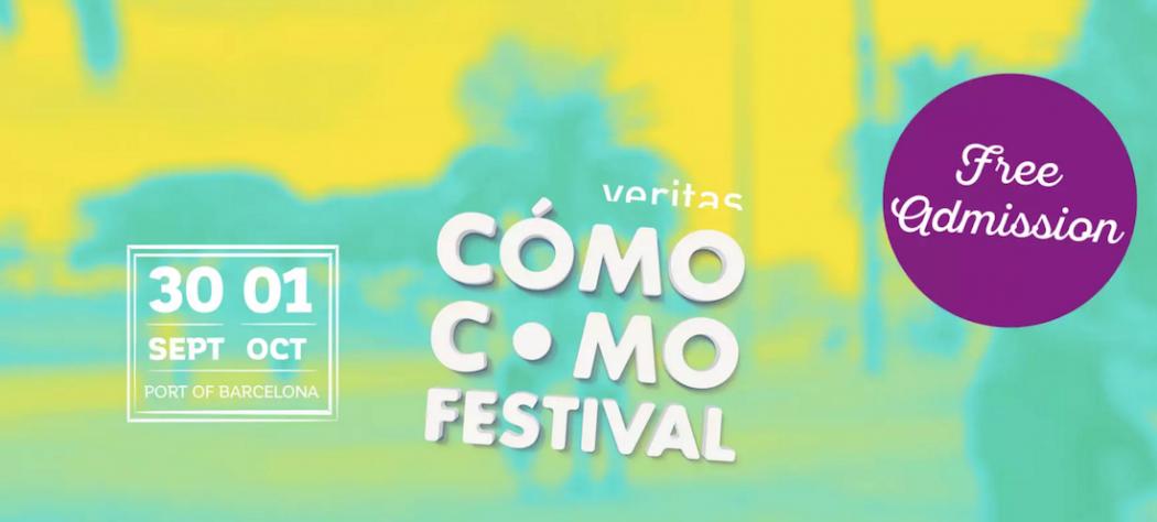 Festival Cómo Como, Puerto de Barcelona, 30 septiembre a 1 octubre. Pilar Latorre