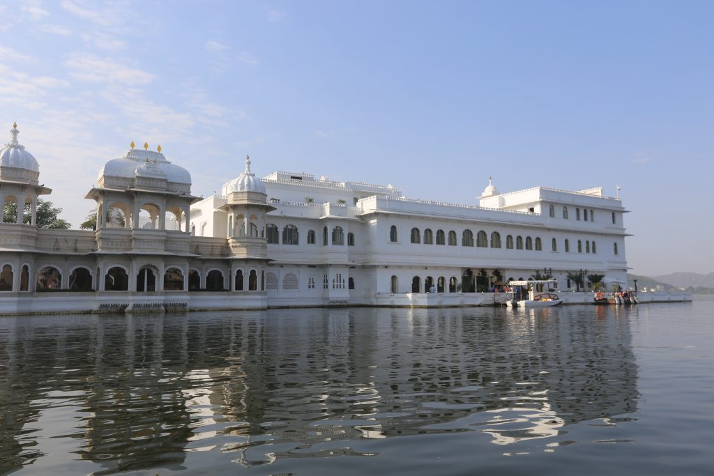 Viaje a La India 2017: Lake Palace en la India