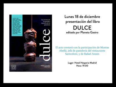 Pilar Latorre. World Cuisine: Presentación Libro Dulce