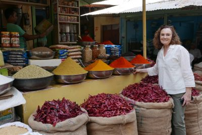Pilar Latorre. World Cuisine. Viaje a la India 2017: Mercado Chandn Chowk