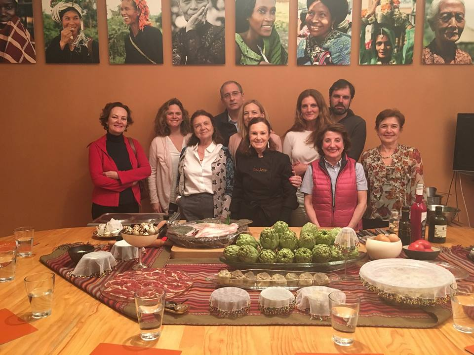 Pilar.Latorre-World.Cuisine-Clase.Cocina.alcachofa-Madrid